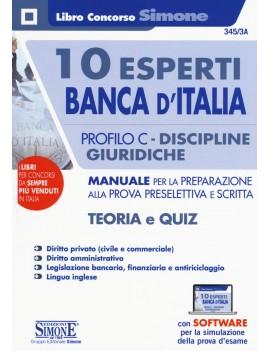 10 ESPERTI BANCA D'ITALIA PROFILO C