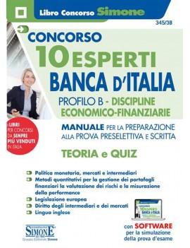 10 ESPERTI BANCA D'ITALIA B