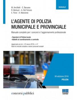 AGENTE POLIZIA MUNICIPALE E PROVINCIALE