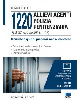 1200 ALLIVI AGENTI POLIZIA PENITENZIARIA