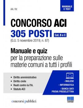 CONCORSO 305  ACI categori A e B