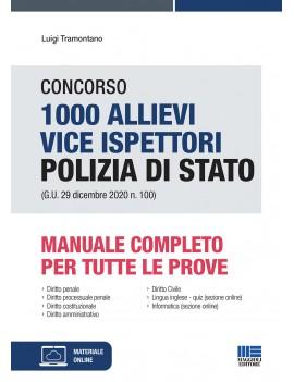 1000 Vice Ispettori POlizia di stato