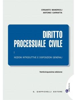 2016 DIRITTO PROCESSUALE CIVILE  1