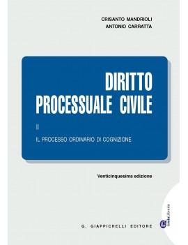 2016 DIRITTO PROCESSUALE CIVILE  2
