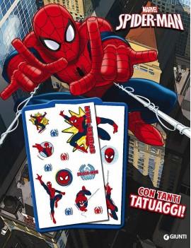 LIBRO CON TATUAGGI. SPIDER-MAN. SUPER AL