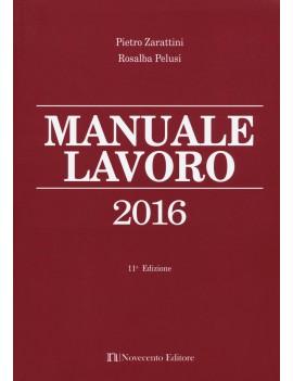 MANUALE DEL LAVORO 2016
