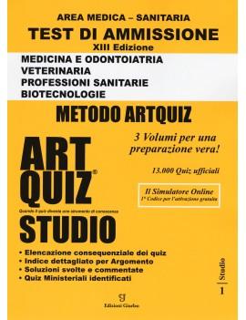 ARTQUIZ STUDIO 2020 area medica
