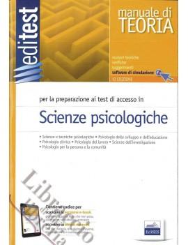SCIENZE PSICOLOGICHE. MANUALE DI TEORIA